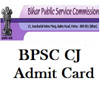 BPSC Civil Judge Admit Card 2019 Bihar CJ Prelims Hall Ticket