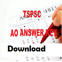 TSPSC AO Answer Key 2018 Agriculture Officer Answer Sheet All set