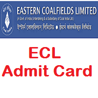 ECL Clerk Admit Card