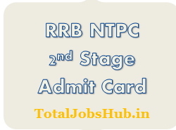 RRB NTPC Mains Admit Card