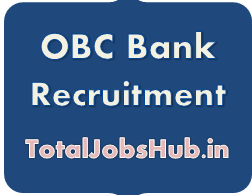 OBC Bank Recruitment