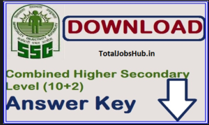 ssc chsl answer-key