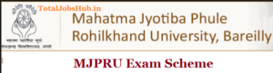 mjp rohilkhand university exam scheme