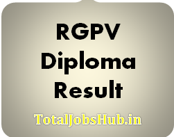 RGPV Diploma Result 2019 May June 2nd, 4th, 6th Sem Polytechnic