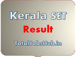 Kerala SET Result 2017 LBS State Eligibility Test Cut Off, Merit List