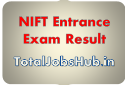 NIFT Entrance Exam Result