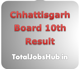 CG Board 10th Result 2018, CGBSE Class 10th Results Date