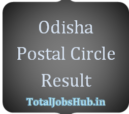 Odisha Postal Circle MTS Result