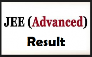 jee advanced result