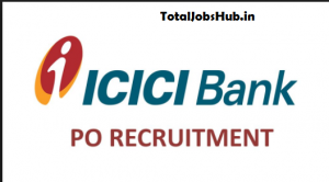 icici bank po recruitment