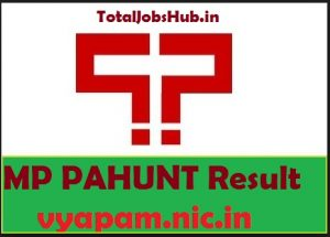 MP PAHUNT Result 2019 Vyapam PAHUNT Exam Cut off Merit List