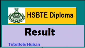 hsbte diploma results
