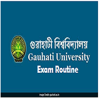 Gauhati University Exam Routine