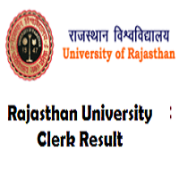 rajasthan university clerk result