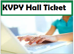 kvpy hall ticket