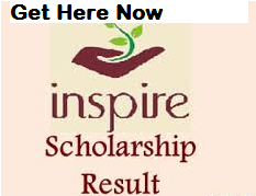 Inspire Scholarship Results 2019 Selection List, Cut off, Merit