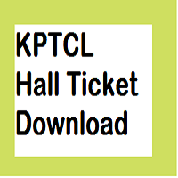 kptcl hall ticket