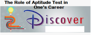 Role of Aptitude Test in Ones career