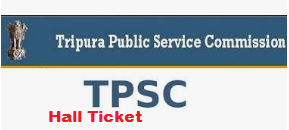TPSC Junior Engineer Admit Card