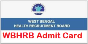 WBHRB Facility Manager Admit Card