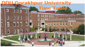 ddu gorakhpur university date sheet